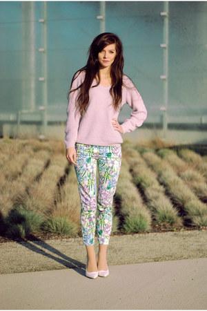 Zara Floral Jumper Mens 81