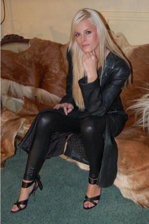 Black Leather Coats Black Leather Leggings Quot Femme