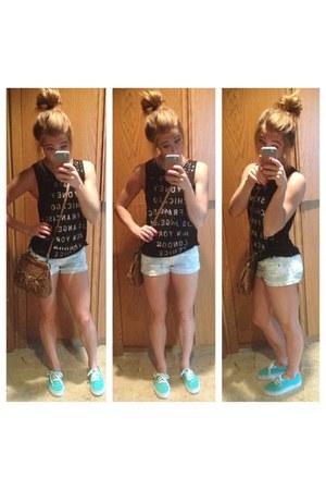 b6a9c10989 White Target Shorts Green Mint Clics Vans Shoes Brown Jessica