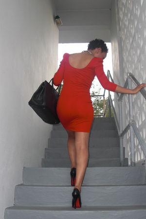 Red H Amp M Dresses Black Christian Louboutin Shoes Quot Im