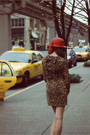 "Red Hats, Brown Rodarte For Target Dresses | ""City Girl"" by ..."
