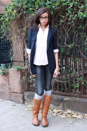 Tobi Blazers Frye Boots Zara Jeans Ralph Lauren Shirts