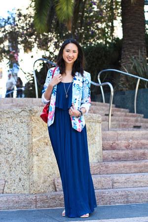 Blue Maxi Dress Forever 21 Dresses Light Blue Floral