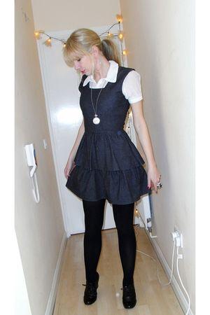 Gray Joy Dresses White Joy Blouses Quot Pinafore Dress Quot By