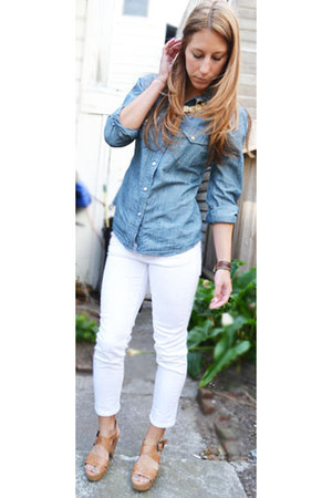 Cropped Nordstrom Jeans Denim Lucky Brand Shirts