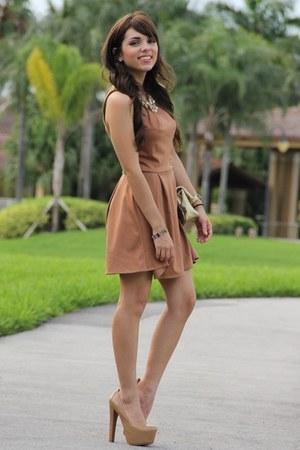 Bronze Love Dresses Camel Mimi Boutique Bags Tan Bebe