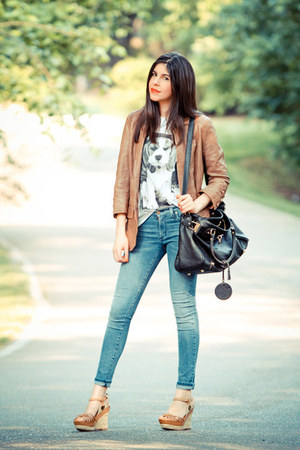James Jeans Jeans Leather Burning Torch Jackets
