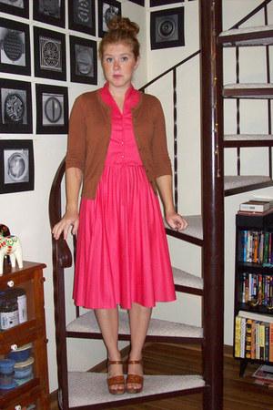 b5267499918 Hot Pink Vintage Dresses