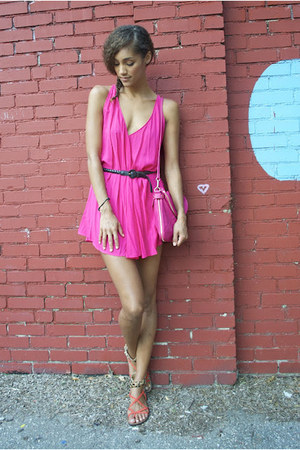 Hot Pink Riller Amp Fount Dresses Hot Pink Forever 21 Bags