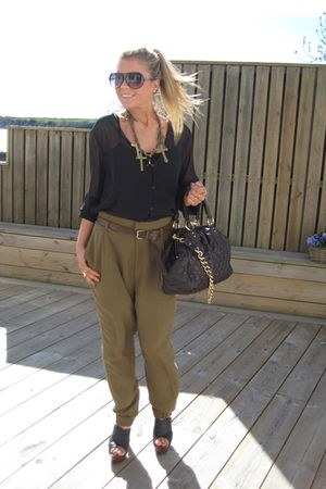 black h m shirts green zara black zara shoes