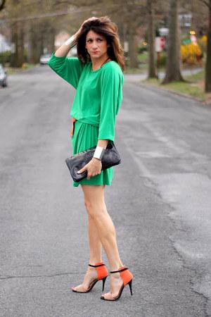 Zara Heels Dresses Quot Green Amp Orange Quot By Itsnotthatdeep