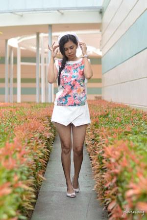 White Wedge Peep Toe Payless Shoes, White Skort Origami ... - photo#19