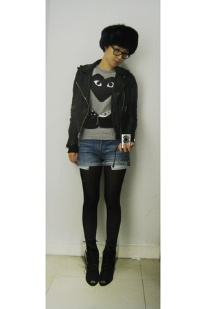 vintage jackets comme des garcons play ts shirts levis shorts urban outfitters love the. Black Bedroom Furniture Sets. Home Design Ideas