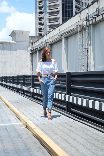 How to wear: Boyfriend jeans