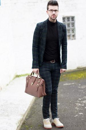 Men S Ivory Asos Shoes Black Sweaters Dark Green Zara