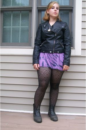 Black Jackets Purple Hot Topic Dresses Black Ariat Shoes