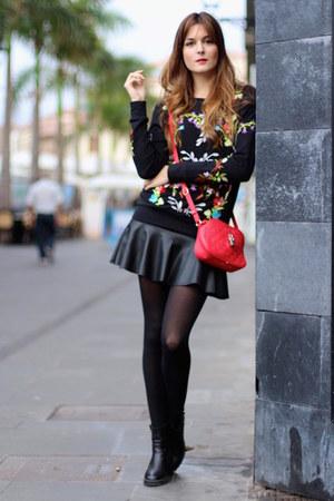 Sheinside Sweaters Zara Boots Zara Skirts Quot Sweatshirt