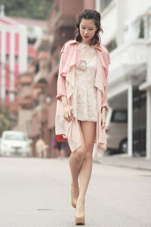 Dark Khaki Choies Necklaces, Ivory Yesstyle Dresses, Light ...