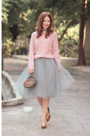 Heather Gray Alexandra Grecco Skirts Pink Front Row Shop