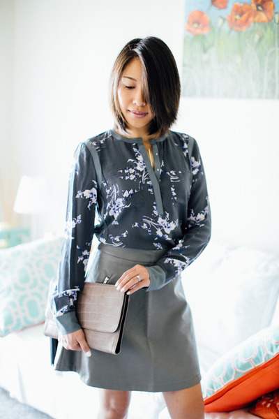 Floral and Leather