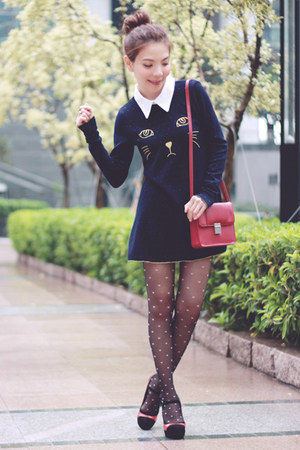 Black Pink Hearts Stockings Navy Dresses Maroon H Amp M Bags