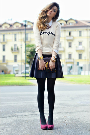 In Love With Fashion Skirts, YSL Bags, OASAP Cardigans | \u0026quot;BONJOUR ...