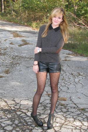 Nn model teen sexy short shorts