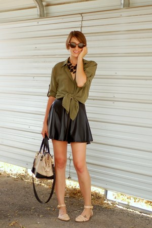 Woven Leather Zara Flats French Kiss Skirts Quot Around