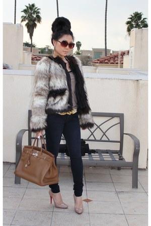 Faux Fur Coat Lanvin For H\u0026amp;M Coats, Birkin 40 Hermes Bags ...