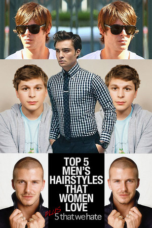 Cool 5 Hairstyles That Girls Love On Men Chictopia Short Hairstyles For Black Women Fulllsitofus