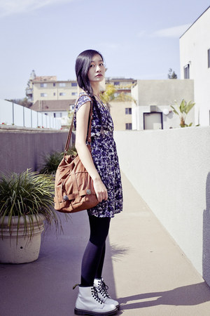 Brown Brown Hobo Gentle Fawn Bags White Dr Martens Boots