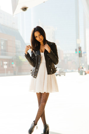 White Jacket Dresses