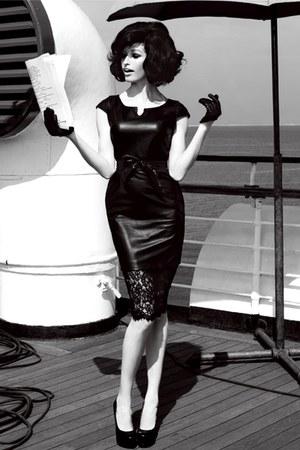 Black Dresses Black Gloves Black Heels Quot Lace And