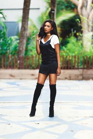 Black Slip Jaest Dresses Black Over The Knee Ted Amp Muffy