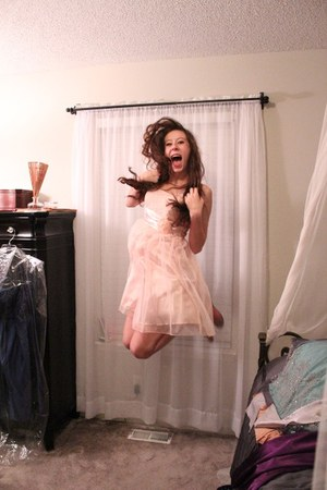 Light Pink Flowy Borrowed Dresses  &quotJumpin&39 For Joy&quot by ...