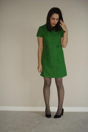 Dark Green Ali Ro Dresses Black Apt 9 Tights Black Deena