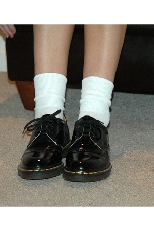Dr Martens Shoes Gold Toe Socks Quot Patent Oxfords Quot By
