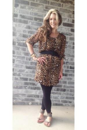 Brown Leopard Dress Express Dresses Black Emperor Sandals