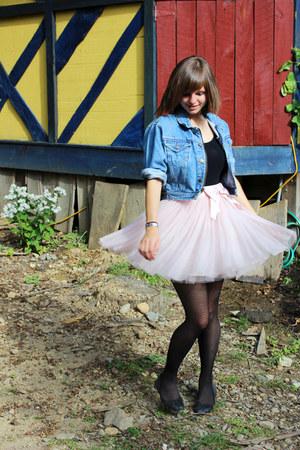 Light Pink Tutu Forever 21 Skirts Light Blue Thrifted