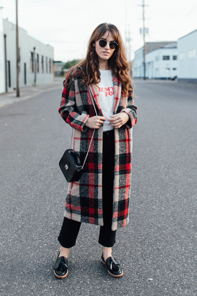 Plaid Coat for Fall