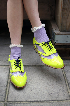 neon the whitepepper shoes quot neon yellow green oxford