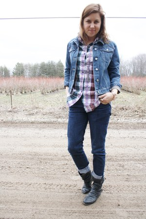 Jean Jacket Gap Jackets, Skinny Jeans TENDEN Jeans, Plaid ...