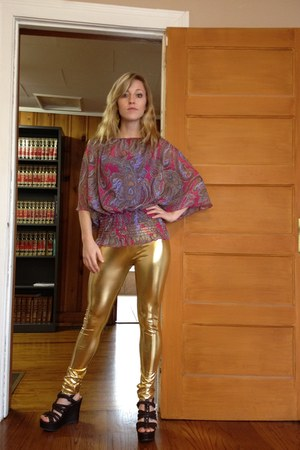 Girl in the golden boots